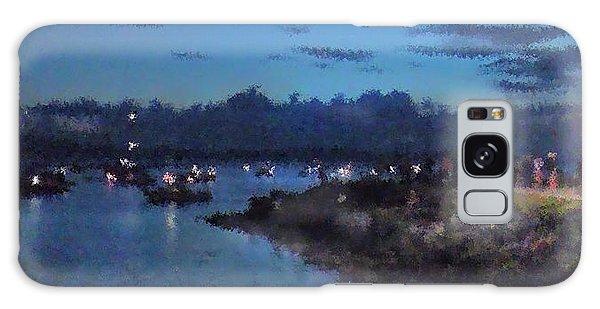 Festival Night Land And Shore Galaxy Case by Felipe Adan Lerma