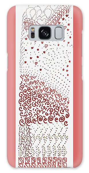 Festival Of Red And Orange Galaxy Case