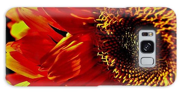 Fickle Sunflower Galaxy Case