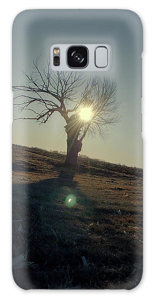 Field And Tree Galaxy Case