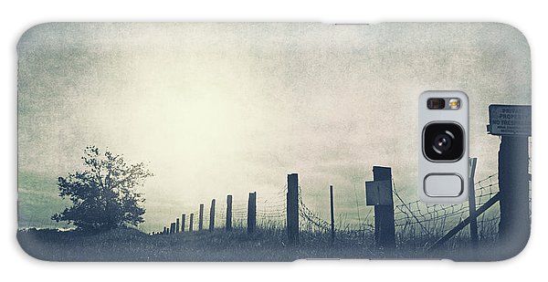 Field Beyond The Fence Galaxy Case