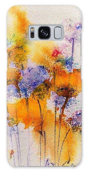 Field Flowers Galaxy Case