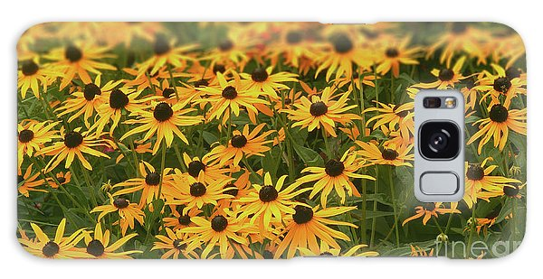 Field Of Black-eyed Susans Galaxy Case