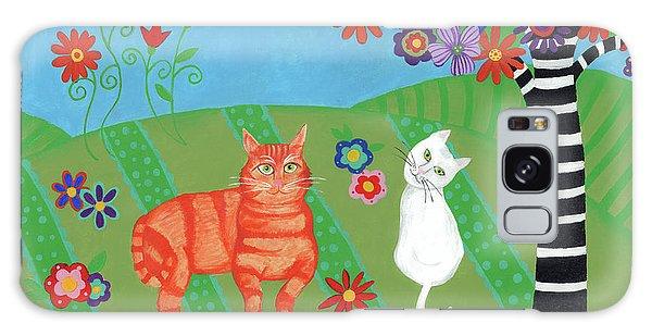 Kitty Cat Meadows Galaxy Case