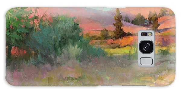 Galaxy Case featuring the painting Field Of Dreams by Steve Henderson