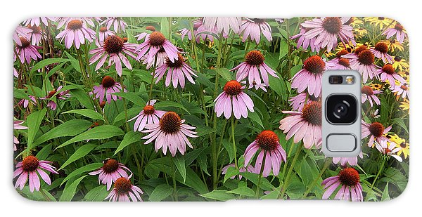 Field Of Echinacea Galaxy Case