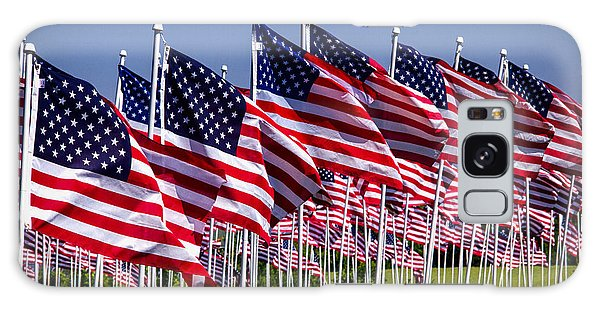 Field Of Flags For Heroes Galaxy Case