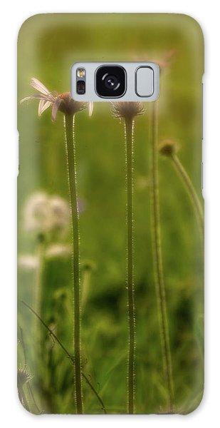 Field Of Flowers 3 Galaxy Case