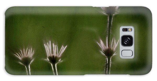 Field Of Flowers 4 Galaxy Case