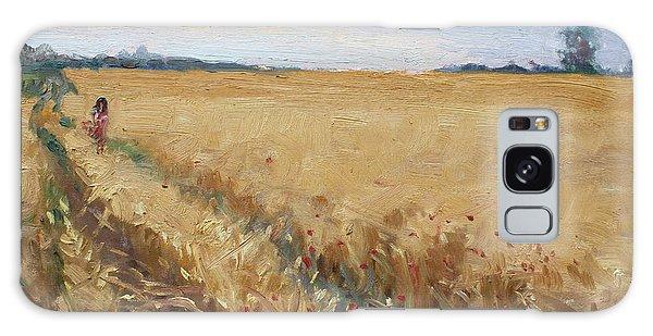 Georgetown Galaxy S8 Case - Field Of Grain In Georgetown On by Ylli Haruni