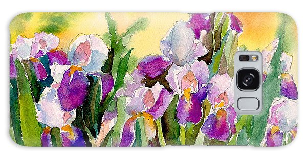 Field Of Irises Galaxy Case
