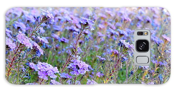 Field Of Lavendar Galaxy Case
