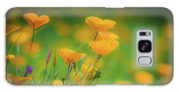 Field Of Poppies Galaxy Case