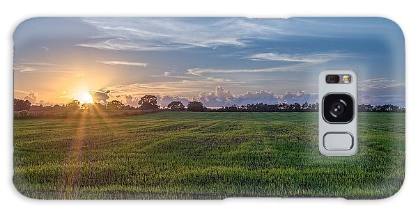 Field Sunset Galaxy Case