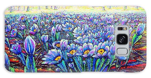 Field.flowers Galaxy Case