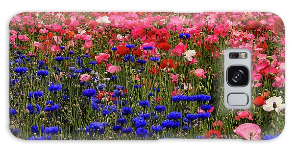 Fields Of Flowers Galaxy Case