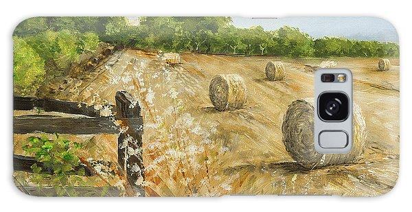 Fields Of Hay Galaxy Case by Marty Garland