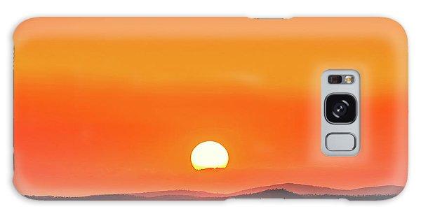 Colours Galaxy Case - Fields Of Haze by Az Jackson