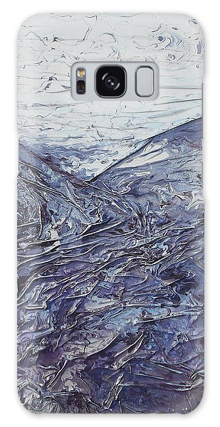 Fields Of Lavender Galaxy Case by Angela Stout
