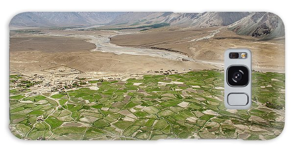 Galaxy Case featuring the photograph Fields Of Zangla, Zanskar, 2008 by Hitendra SINKAR