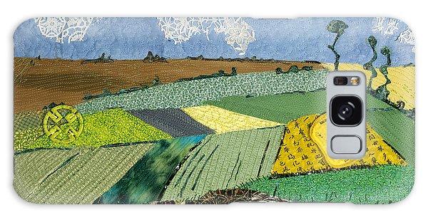 Fields To Gogh Galaxy Case