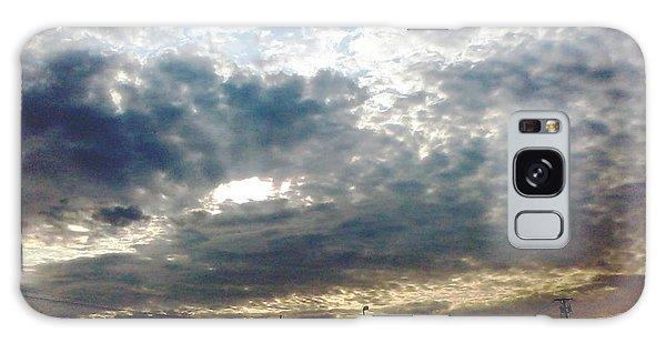 Fierce Skies Galaxy Case