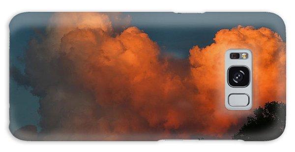 Fiery Cumulus Galaxy Case by Kathryn Meyer