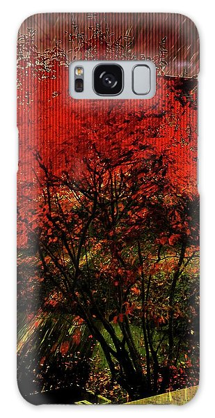 Fiery Dance Galaxy Case by Mimulux patricia no No