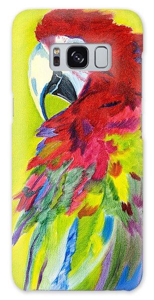 Fiery Feathers Galaxy Case