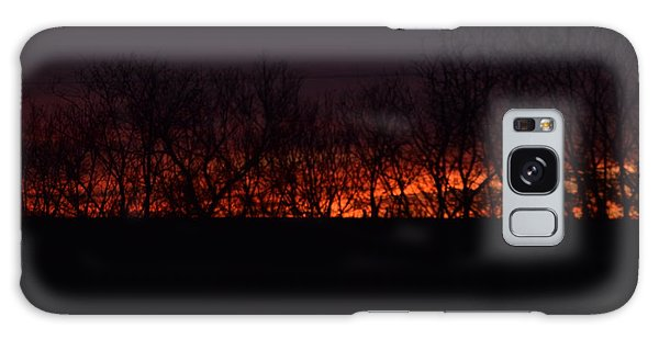 Fiery Kansas Sky Galaxy Case