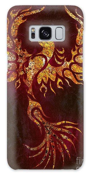Phoenix Galaxy Case - Fiery Phoenix by Robert Ball