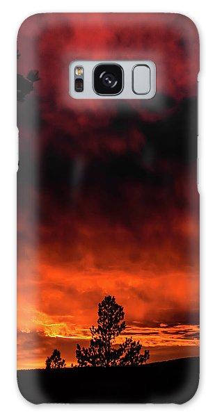 Fiery Sky Galaxy Case