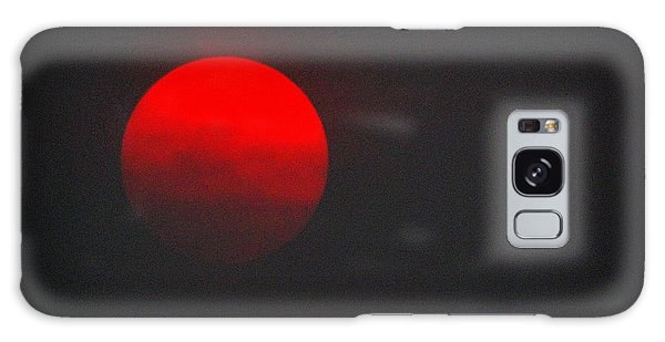 Galaxy Case featuring the photograph Fiery Sun by AJ Schibig