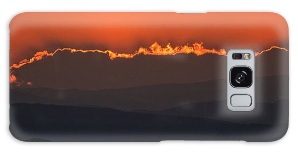 Fiery Sunset In The Luberon Galaxy Case