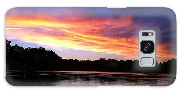Fiery Sunset Galaxy Case by Jason Nicholas