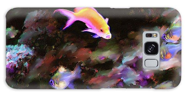 Fiesty Fish Galaxy Case