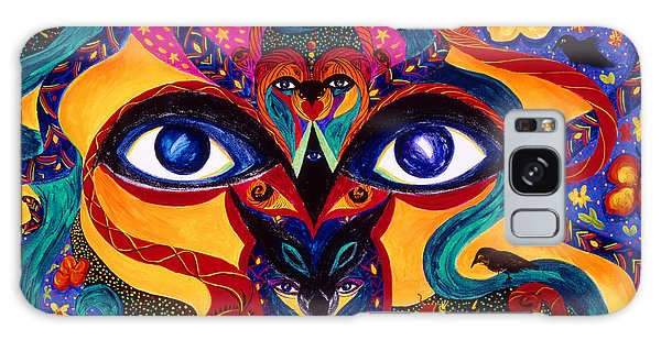 All Seeing Galaxy Case by Marina Petro