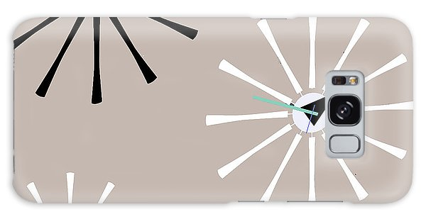 Clock Galaxy Case - Fifties Kitchen V by Mindy Sommers