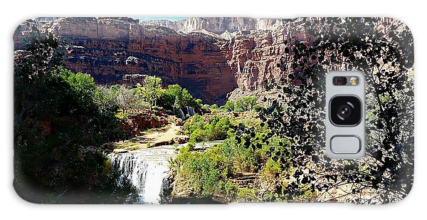 Fifty Falls And Havasupai Falls Havasupai Indian Reservation Galaxy Case