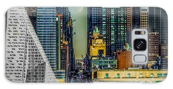Galaxy Case featuring the photograph Fifty-seventh Street Fantasy by Chris Lord