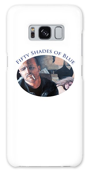 Fifty Shades Of Blue Galaxy Case by Tom Roderick