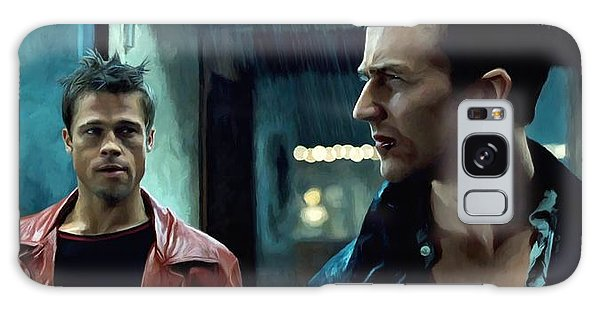 Fight Club #1 Large Size Painting Galaxy Case