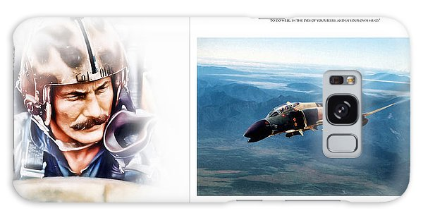 Tribute Galaxy Case - Robin Olds Fighter Pilot by Peter Chilelli