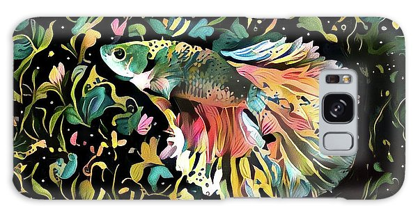 Fighting Fish 1 Galaxy Case