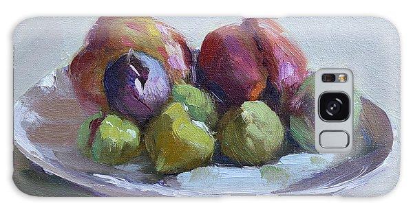 Peach Galaxy Case - Figs And Peaches by Ylli Haruni