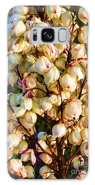 Filled With Joy Floral Bunch Galaxy Case