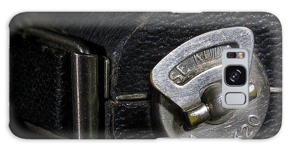 Vintage Camera Galaxy Case - Film 620 by Tom Mc Nemar