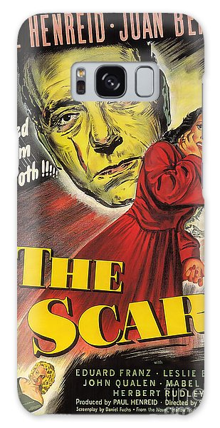 Film Noir Poster  The Scar Galaxy Case
