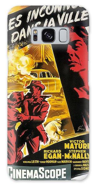 Film Noir Poster   Violent Saturday Galaxy Case by R Muirhead Art