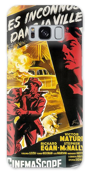 Harper Lee Galaxy Case - Film Noir Poster   Violent Saturday by R Muirhead Art